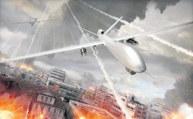 Indian Security agencies Decides To Use Anti Drone Technology - Sakshi