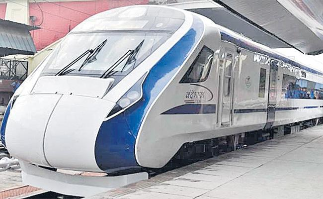 Vande Bharat Express To Run For The First Time Between Delhi-Katra from October 5 - Sakshi