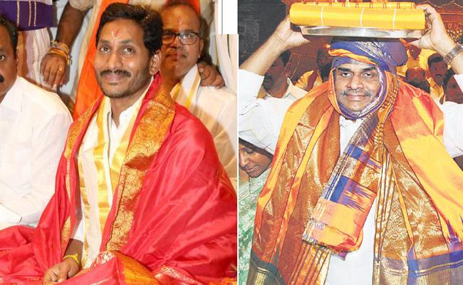 CM Jagan To Offers Silk Clothes To Tirumala - Sakshi