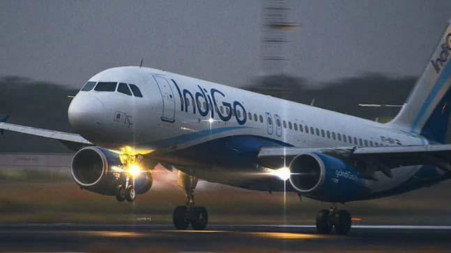 IndiGo Plane Catches Fire Mid-Air Turns Back Goa Minister On Board - Sakshi