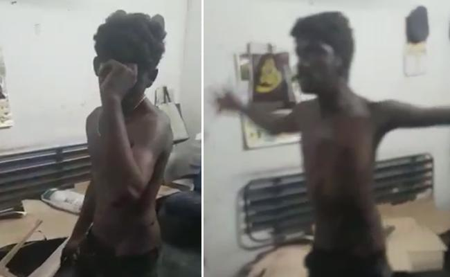 Psycho Halchal In Anantapur Bus Stand - Sakshi