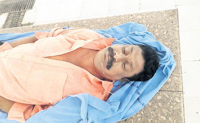 Suicide of Katika Reddy Srinivasula Reddy - Sakshi
