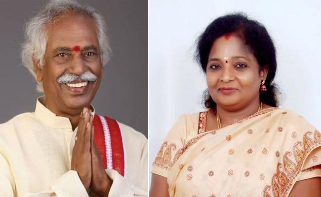 Tamilisai To Take Oath As Governor September 8 - Sakshi