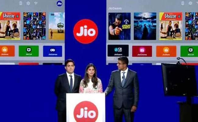 Reliance Jio to provide free set-top-box with every broadband connection - Sakshi