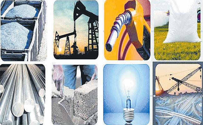 Eight Industries Growth Rate Downfall in July - Sakshi
