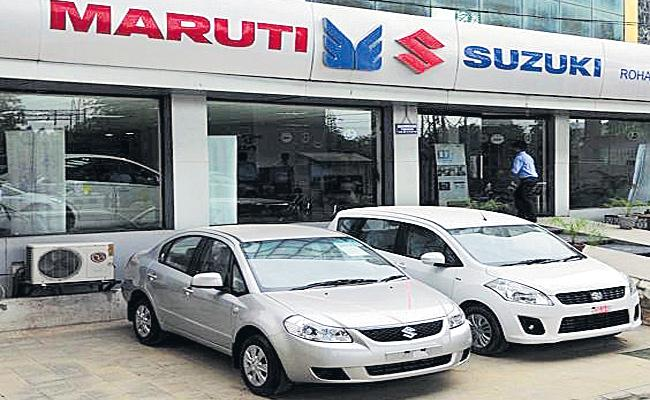 Maruti Mini Cars Running With CNG Only - Sakshi