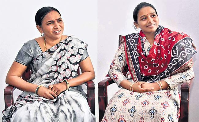 Mother And Daughter Get Government Jobs at a Time in Rajanna - Sakshi