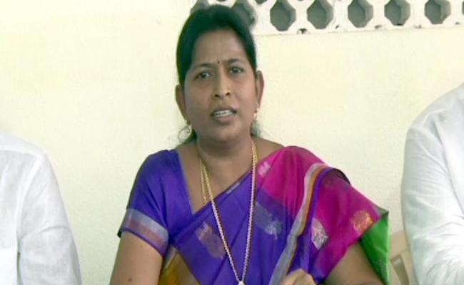 Taneti Vanita Talks About Castiest Comments Made On MLa Sridevi - Sakshi