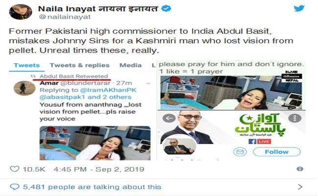Porn Star Johnny Sins Reaction On Pakistan Ex Envoy Wrong Tweet - Sakshi