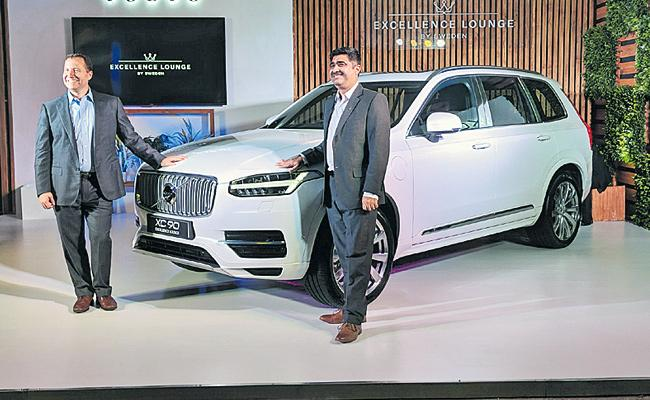 Volvo Launch Ultra Luxury XC90 - Sakshi