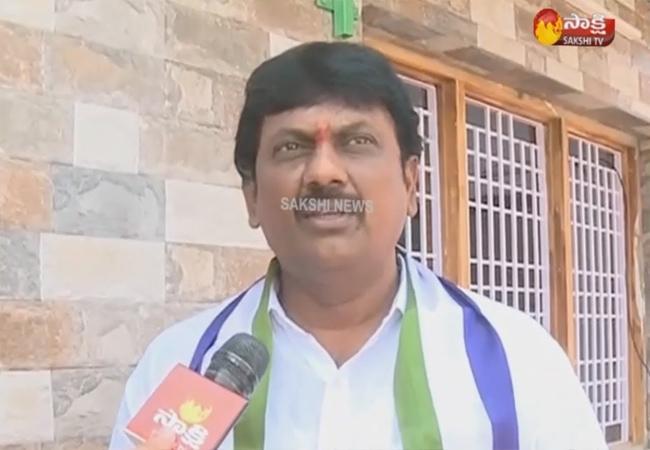 MLA Petla Ganesh Blames Ayyanna Patrudu In Vizag - Sakshi