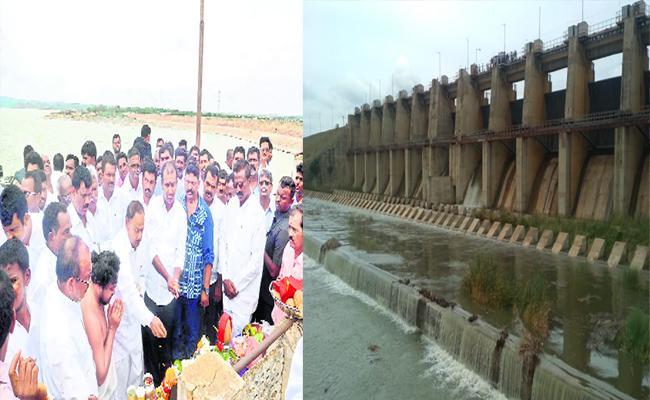Rajasekhar Reddy Brought Krishna Waters to Penna - Sakshi