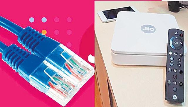 Setup box free with Jio Broadband - Sakshi