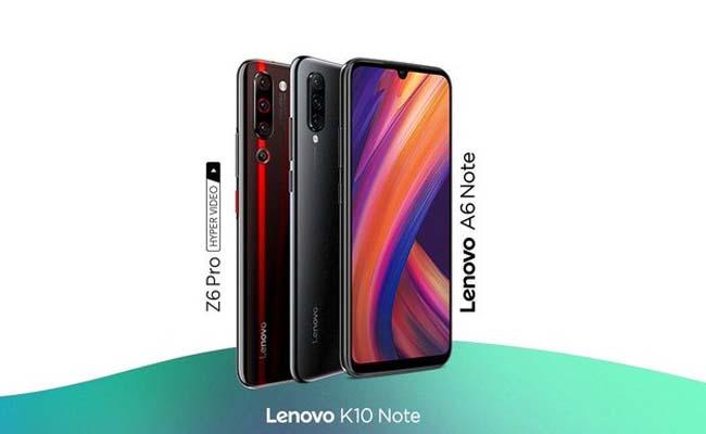 Z6 Pro K10 Note A6 Note Smartphones Launched in India  by  Lenovo - Sakshi