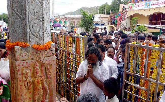 Anna Rambabu Tirumala Padayatra Starts In Kakarla At Prakasam - Sakshi