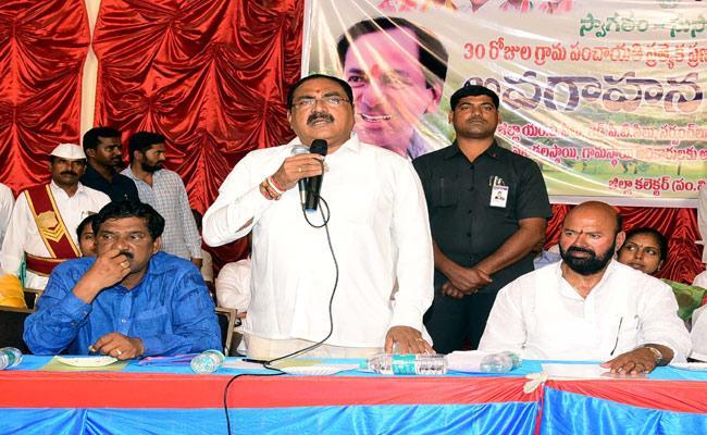 Errabelli Dayakar Rao Speech In Warangal District - Sakshi