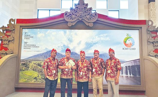 ICID Appreciate Telangana Mission Kakatiya In Indonesia - Sakshi