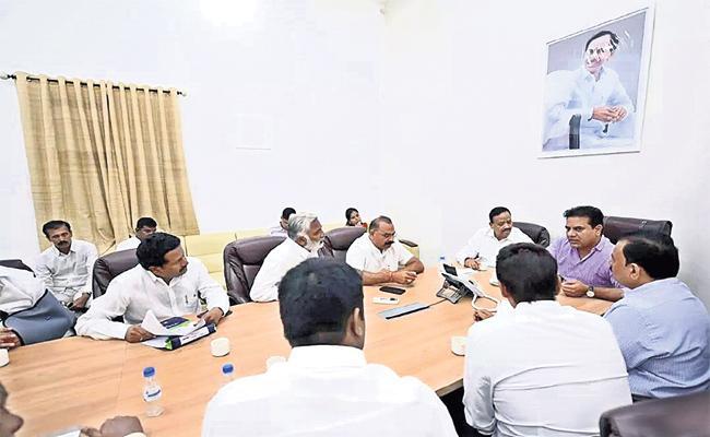 KTR Target Board Elections in Wards - Sakshi