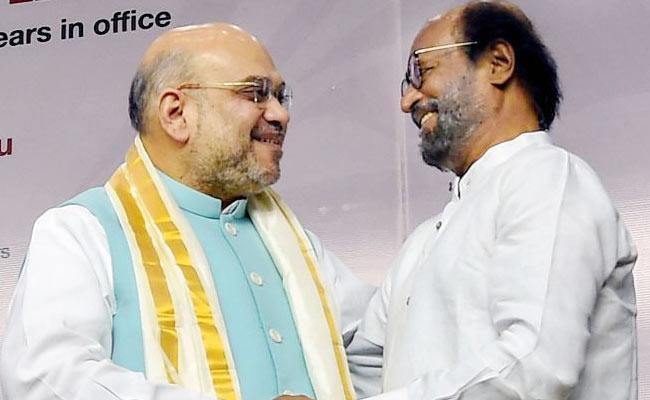 Rajinikanth Will Be The Next President Of Tamil Nadu BJP - Sakshi