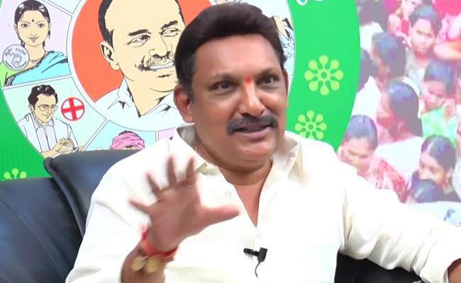 Grandhi Srinivas Hot Comments On Chandrababu Naidu - Sakshi