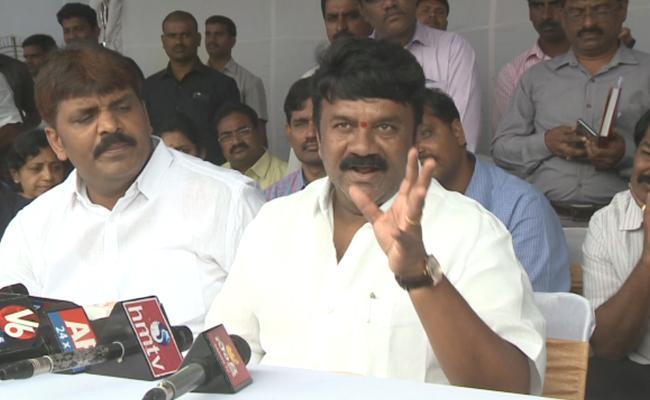 Minister Talasani Srinivas Yadav Fires On Opposition Leaders - Sakshi