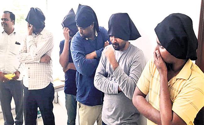 Airport Jobs Cheating Case Gang Arrest Hyderabad - Sakshi