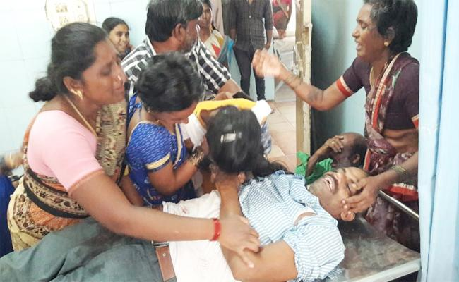 Three People Died in Road Accident Chittoor - Sakshi