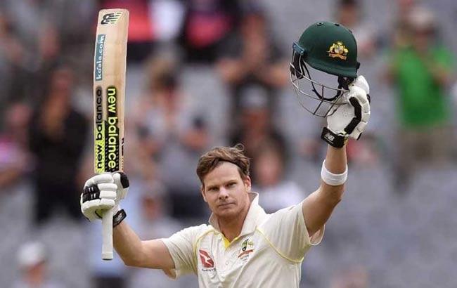 Steve Smith hits 3rd Ashes double century - Sakshi