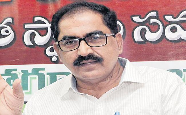 Merging Of Banks Will Destabilise Economy Says Tammineni Veerabhadram - Sakshi