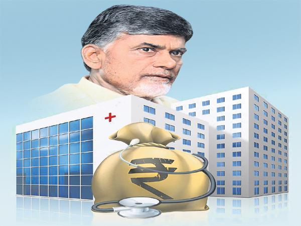 Chandrababu Govt Fraud to the Indo UK Hospital Management - Sakshi