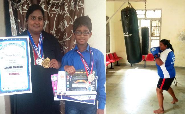 Kick Boxing Champion Nagapriya Special Story - Sakshi