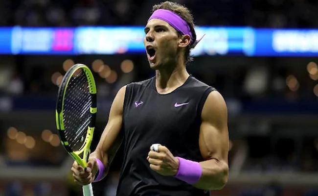 Nadal Advances To US Open Final Against Medvedev - Sakshi