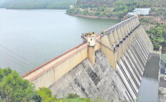 Flood again to Srisailam - Sakshi