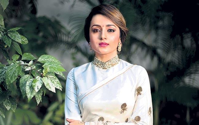 Trisha in ponniyin selvan movie - Sakshi