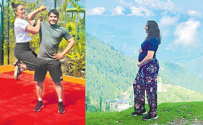 Geeta Phogat Tweet About Her Pregnancy - Sakshi