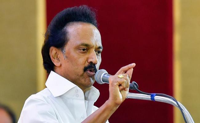 MK Stalin Critics CBSE Over Religion Based Questions in School Exam - Sakshi