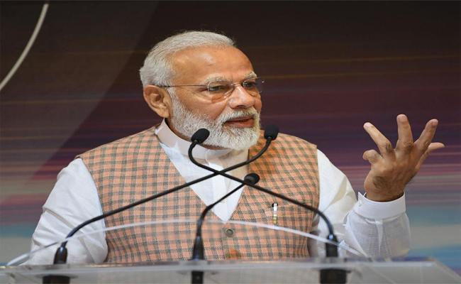 NDA 100 Day Performance Created History Said By Modi - Sakshi