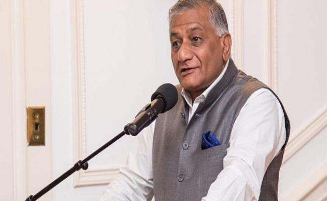 Former Indian Army Chief VK Singh Comments on Pakistan Army Chief Bajwa Dialogues - Sakshi
