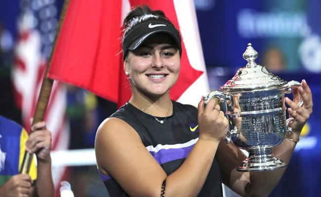 Canadian Teen Bianca Andreescu Win US Open Final Against Serena Williams - Sakshi
