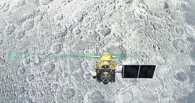 Vikram lander make a crash landing on the Moon - Sakshi