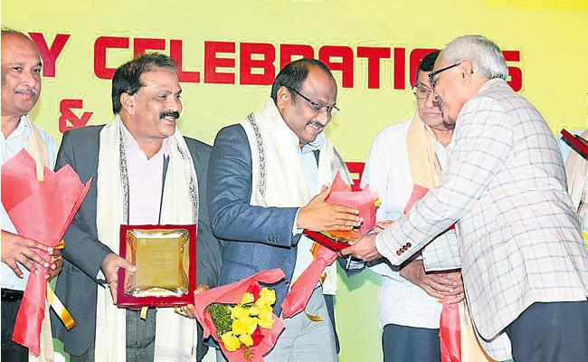 Megha Engineering Bags ICI Award - Sakshi