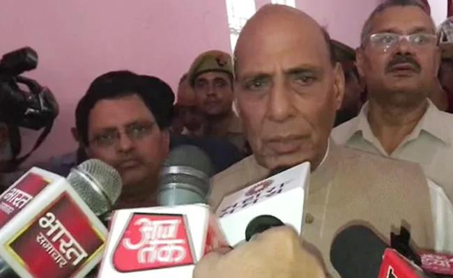 Rajnath Singh Says We Did Not Take Rest For A Day In 100 Days - Sakshi