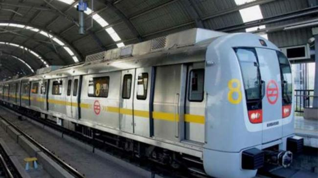 woman Dies After Jumping Before Train At Delhis Model Town Metro Station - Sakshi