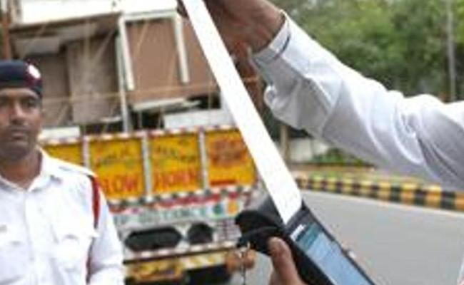 Odisha Truck Driver Fined Rs 86500 Under MV Act - Sakshi