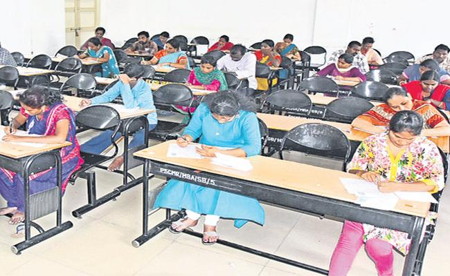 Appreciation From All Candidates for Secretariat examinations - Sakshi