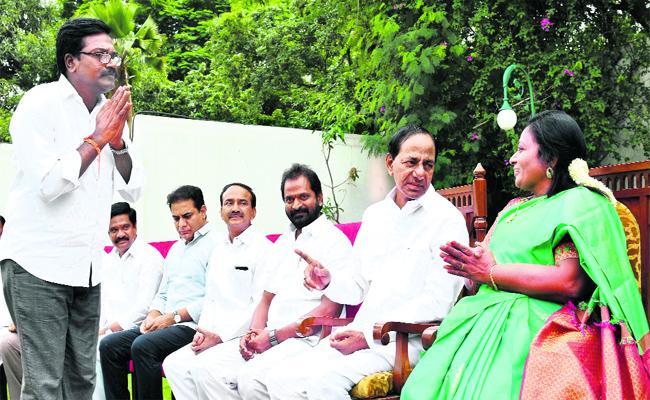 Khammam MLA Puvvada Ajay Kumar Gets Transport Ministry - Sakshi