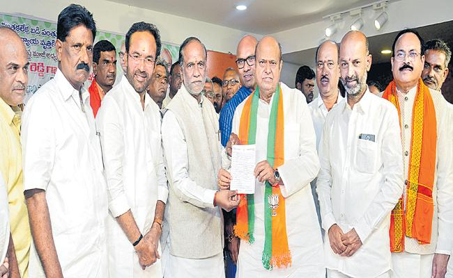 BJP Leader Laxman Call to the People to come with BJP - Sakshi