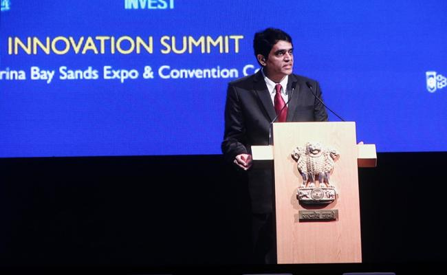 Buggana Rajendranath Reddy In Singapore Indian Business Innovation Summit - Sakshi