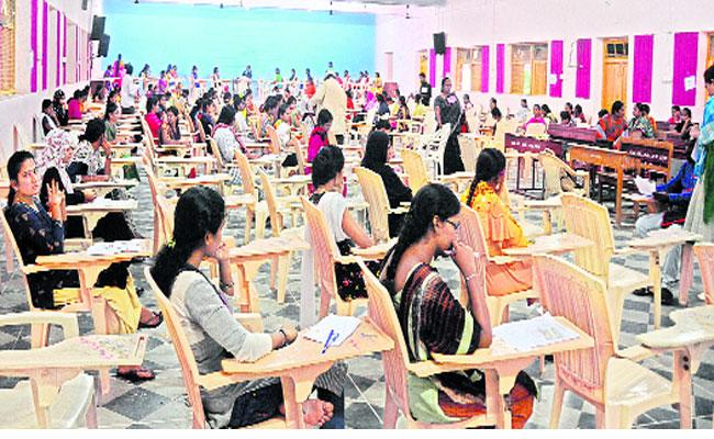 Village Secretariat Exam Over And Waiting For Results - Sakshi