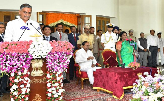 Portfolios Allocated To New Telangana Ministers - Sakshi